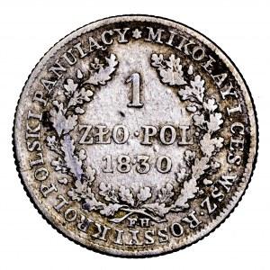 Królestwo Polskie, 1 złoty 1830 FH, Warszawa
