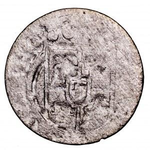 Krystyna Waza, półtorak Elbląg brockage - odbicie awersu, rzadkość