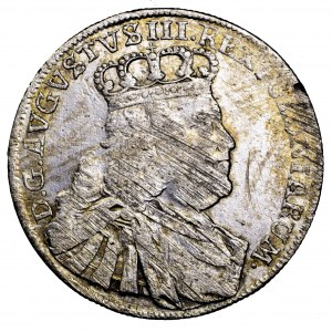 August III Sas, ort 1754 EC, Lipsk