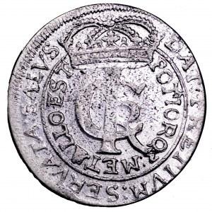 Jan II Kazimierz, tymf 1663 AT - piękny