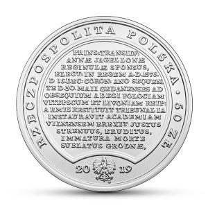 III RP, Skarby Stanisława Augusta, 50 złotych 2019 - Stefan Batory