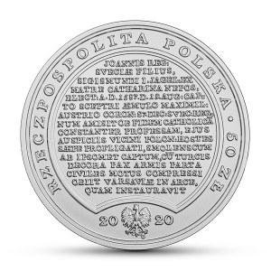 III RP, Skarby Stanisława Augusta, 50 złotych 2020 - Zygmunt III Waza