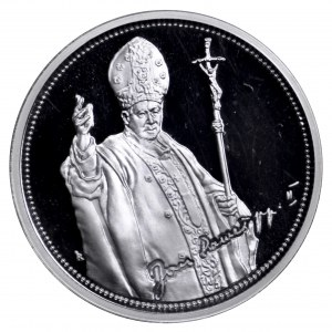 Polska, medal Jan Paweł II - srebro