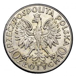 II Rzeczpospolita, 10 złotych 1932, Polonia, Londyn