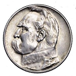 II Rzeczpospolita, 5 złotych 1934, Piłsudski - strzelecki