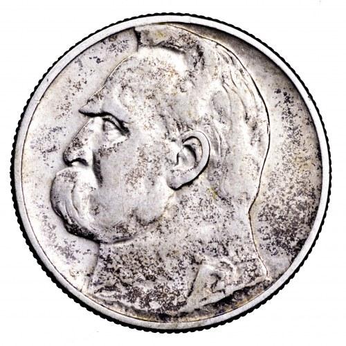 II Rzeczpospolita, 2 złote 1934, Piłsudski