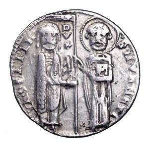 Włochy, Wenecja, grosz XIII-XIV w.