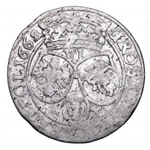 Jan II Kazimierz, szóstak 1662 AT