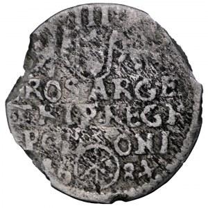 Jan III Sobieski, trojak 1684 SP, Bydgoszcz - rzadkość