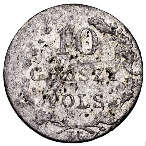 Powstanie Listopadowe, 10 groszy 1831 KG