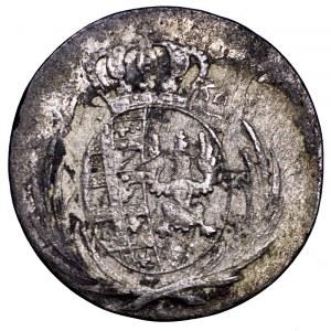 Księstwo Warszawskie, 5 groszy 1812 IB - przebitka