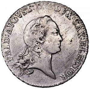 Niemcy, Saksonia, 2/3 talara (gulden) 1772 EDC, Drezno