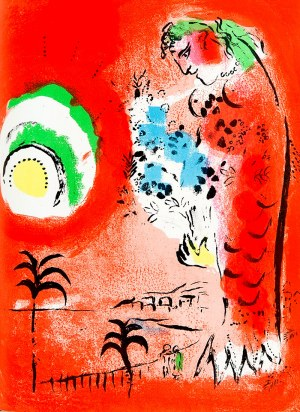 Marc Chagall (1887 - 1985), La Baie des Anges