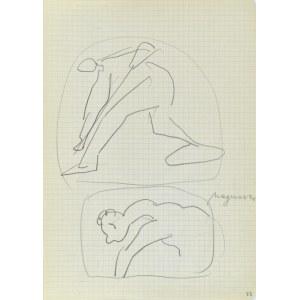 Jerzy Panek (1918-2001), Szkice z dawnego malarstwa - Magnasco, 2 połowa 1969 r.
