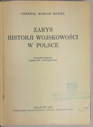 Kukiel Marian, Zarys historji wojskowości w Polsce 1929