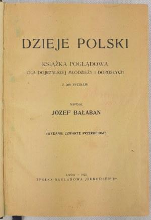 Bałaban Józef, Dzieje Polski 1922