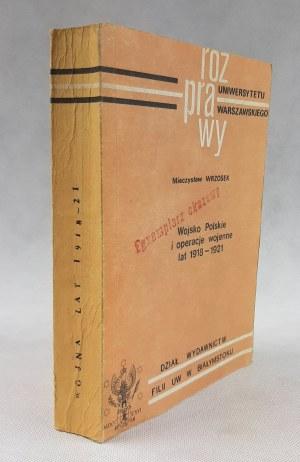 Wrzosek Mieczysław, Wojsko Polskie i operacje wojenne lat 1918-1921