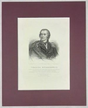 Kniaziewicz Karol, staloryt ca. 1840