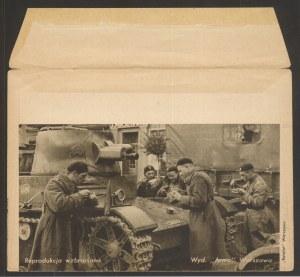 Koperta ozdobna, Wojska pancerne, po 1935
