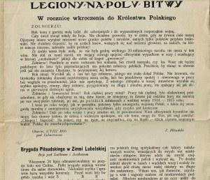 Wiadomości Polskie, Piotrków 1915