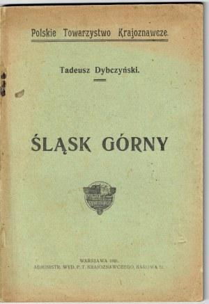 Dybczyński Tadeusz, Śląsk Górny 1921
