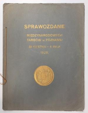 Sprawozdanie Międzynarodowych Targów w Poznaniu w 1928 r.