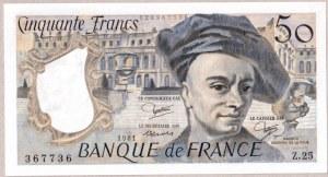 France 50 Francs 1981 Banknote Quentin de La Tour.  Fayette: 67.7...