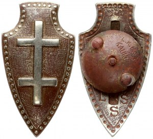 Lithuania The big shooter Badge of the Lithuanian Riflemen's Union (1919–1940)...