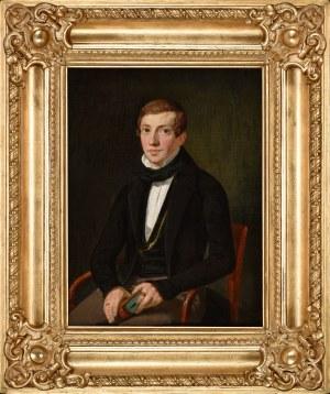Carl Fischer (1819-1868), Portret, 1849