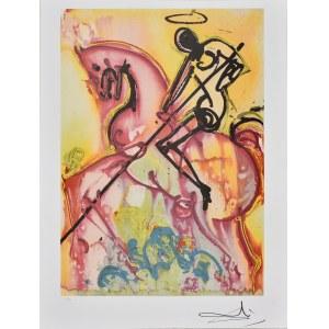 Salvador Dali (1904-1989), Z cyklu Dalinean Horses: St. George