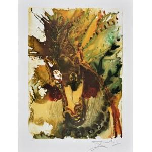 Salvador Dali (1904-1989), Z cyklu Dalinean Horses: Bucephale [Alexander's horse]