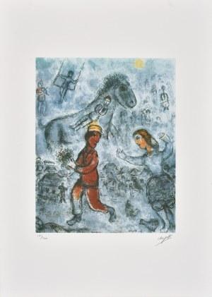 Marc Chagall (1887-1985), granolitografia / 41 x 33 cm [wymiary odbitki]