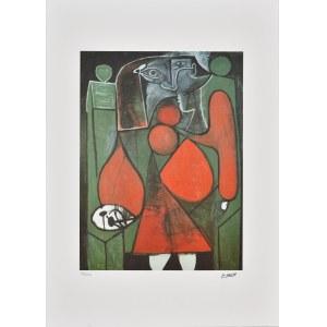 Pablo Picasso (1881-1973), Acte cubiste 1986