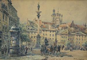 Chmieliński (Stachowicz) Władysław, PLAC ZAMKOWY W WARSZAWIE, PRZED 1939
