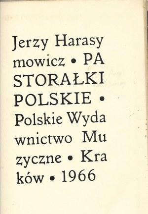 Harasymowicz Jerzy PASTORAŁKI POLSKIE [AUTOGRAF AUTORA]