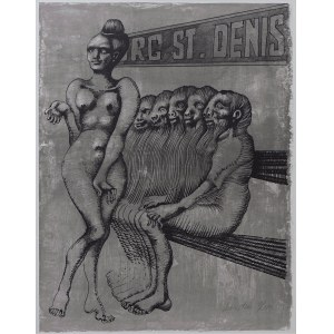Jan Lebenstein (1930 - 1999), Strasbourg - St. Denis, 1872