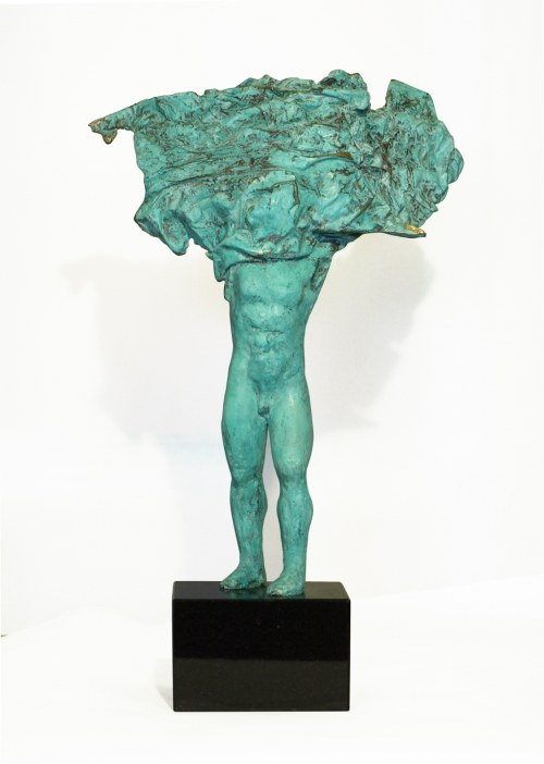 Sylwia Caban (ur. 1969), Szary zielony, 2020