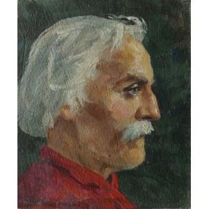 Szczepan Andrzejewski, Portret mężczyzny z profilu