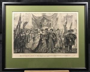 Drzeworyt Sztorcowy z rysunku Juliusza Kossaka