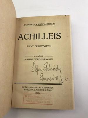 Wróblewski Karol Stanisława Wyspiańskiego Achilleis