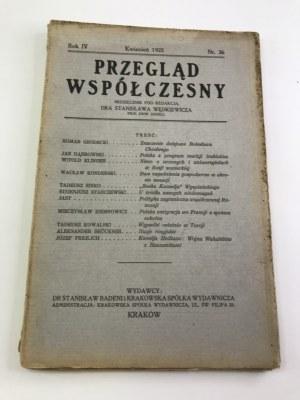 [Wyspiański] Przegląd Współczesny Rok IV kwiecień 1925 nr. 36