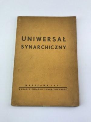Uniwersał Synarchiczny Warszawa 1937