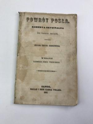 Niemcewicz Ursyn Julian Powrót Posła [Sanok 1855]