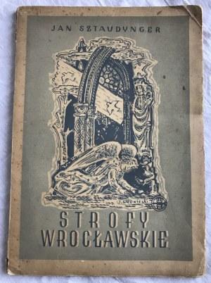 Sztaudynger Jan Strofy Wrocławskie [Jan Wroniecki]