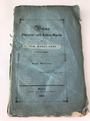 Polens Literatur und Cultur-epoche [Poznań 1843]