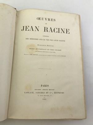 Oeuvres de Jean Racine/Dzieła Jeana Racine'a