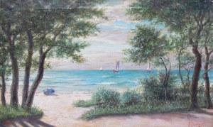 A. Pawlowski (XIX/XX w.), Plaża w Sopocie