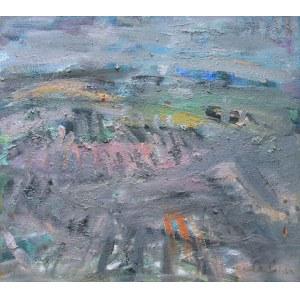 Halina Centkiewicz-Michalska (1912-2007), Pejzaż horyzontalny, 1999 r.