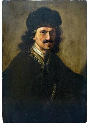Artysta nieokreślony (XVIII w.), Portret męski
