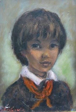 Katarzyna Librowicz (1912 Warszawa - 1991 Paryż), Portret chłopca